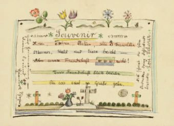 Souvenir Ilustrirana pisma bauhausovke Lou Scheper za Marie-Luise Betlheim (Weimar, Dessau, Berlin, 1922-1936.)